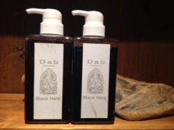 画像1: Dab Black Herb Shampoo500ml×2
